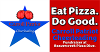 Carroll Patriot Cheerleading Fundraiser at Beavercreek Pizza Dive