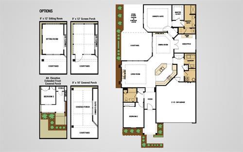 Portico Floorplan