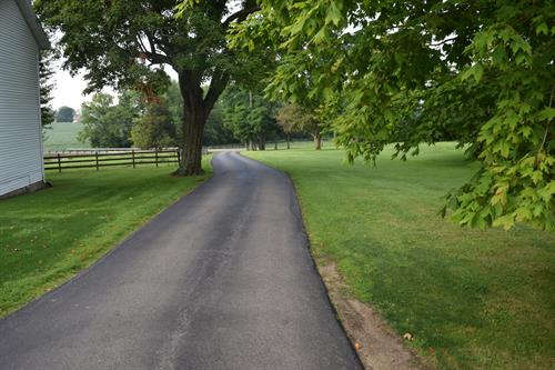 BEFORE Residential Driveway, Jamestown, OH