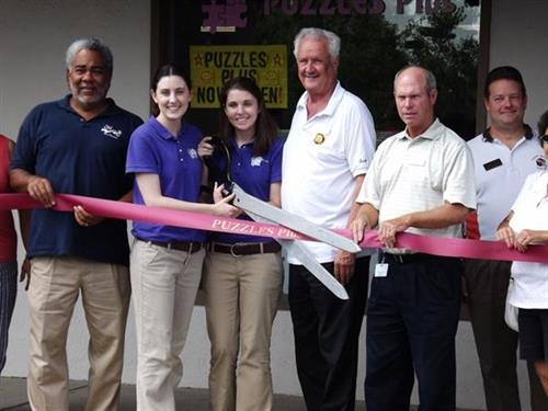 Puzzles Plus Ribbon Cutting