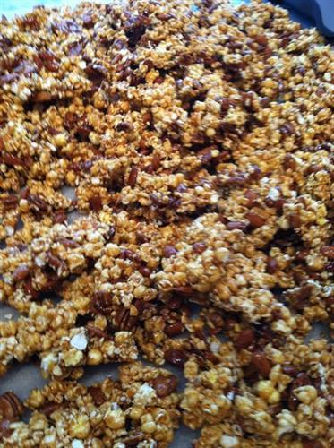 Nutcracker Sweet Caramel Corn