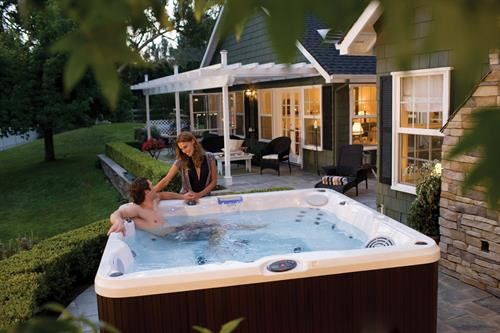 Enjoy a Jacuzzi kind of afternoon
