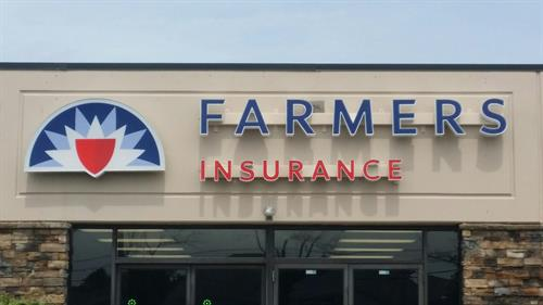 Channel letters can brighten any store front with LED lighting.