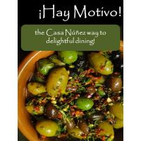 ¡Hay Motivo! the Casa Núñez way to delightful dining! eBook published!