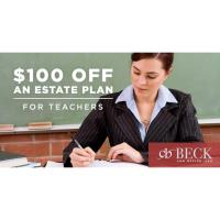 Beck Law Office, LLC Loves Teachers!