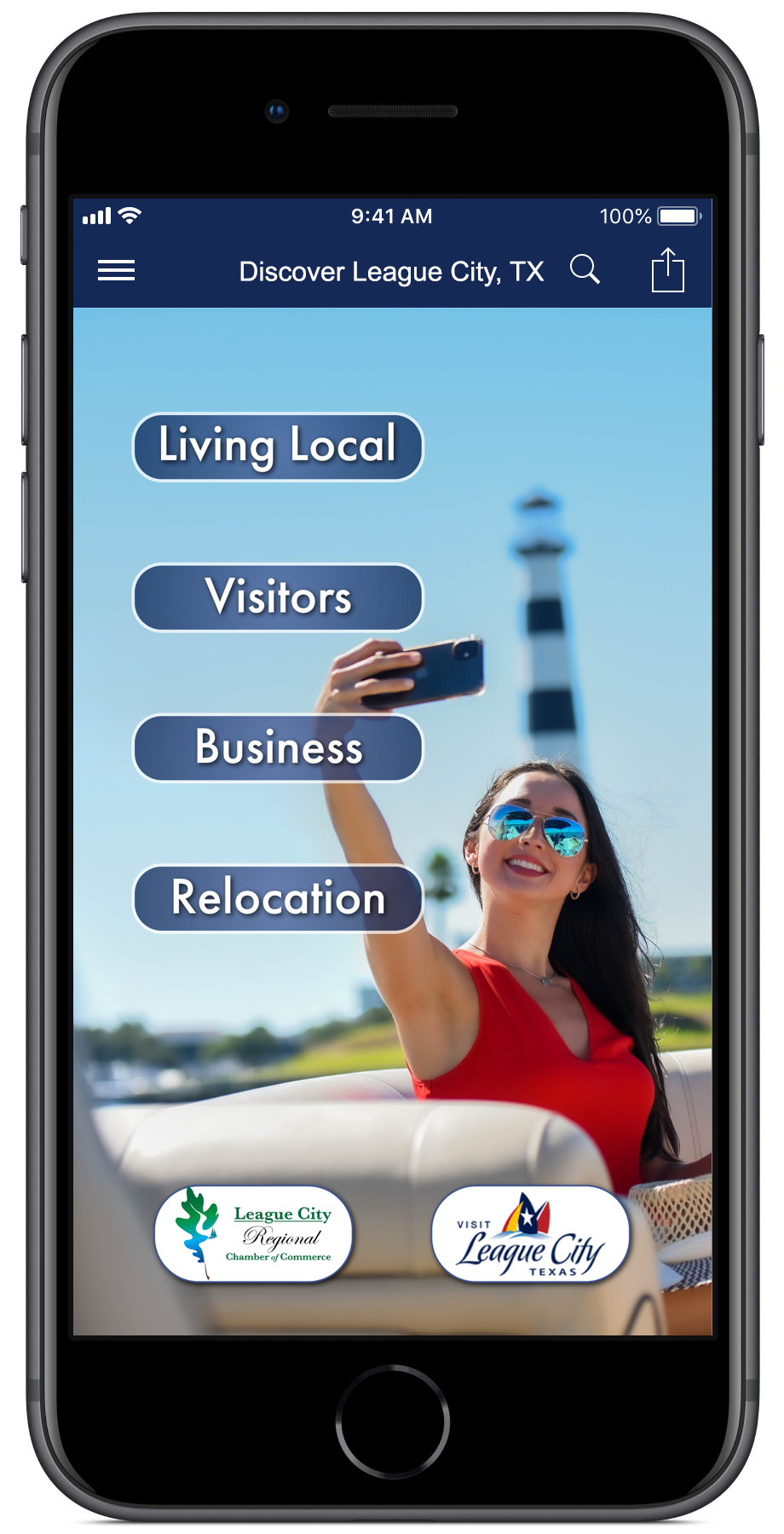 Image for ANNOUNCEMENT: Get in the big leagues with the League City App!