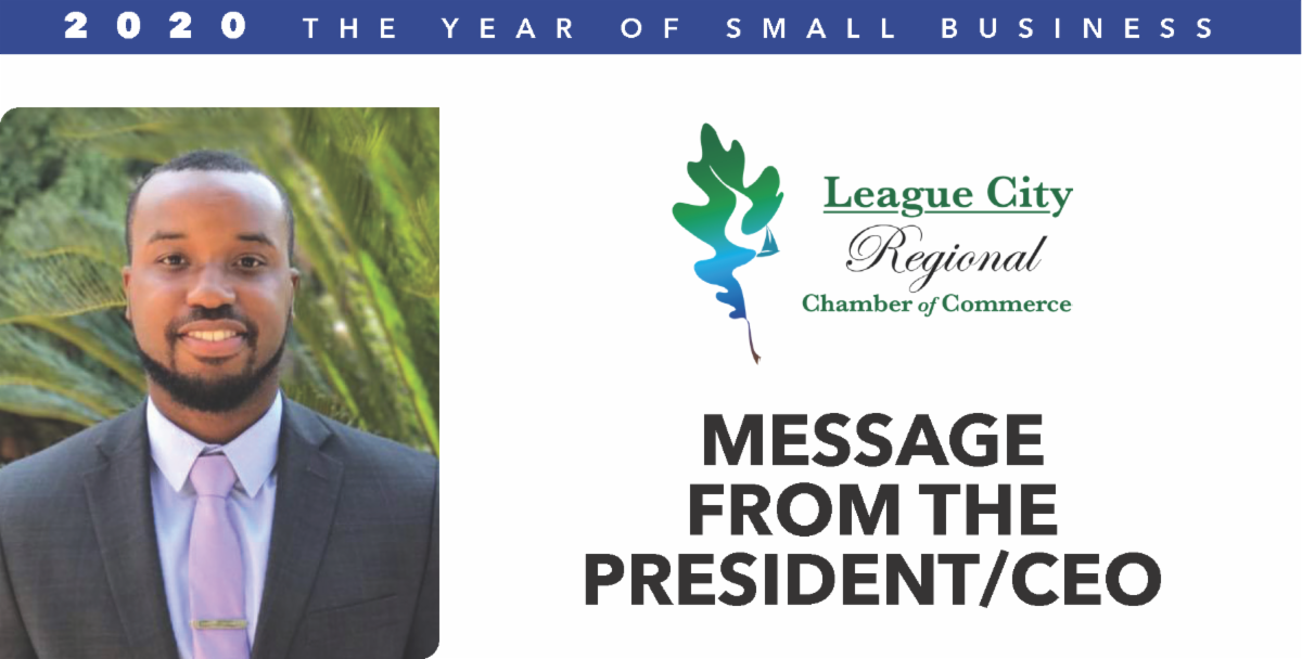 Image for MESSAGE FROM THE PRESIDENT: Showing thanks to all our members