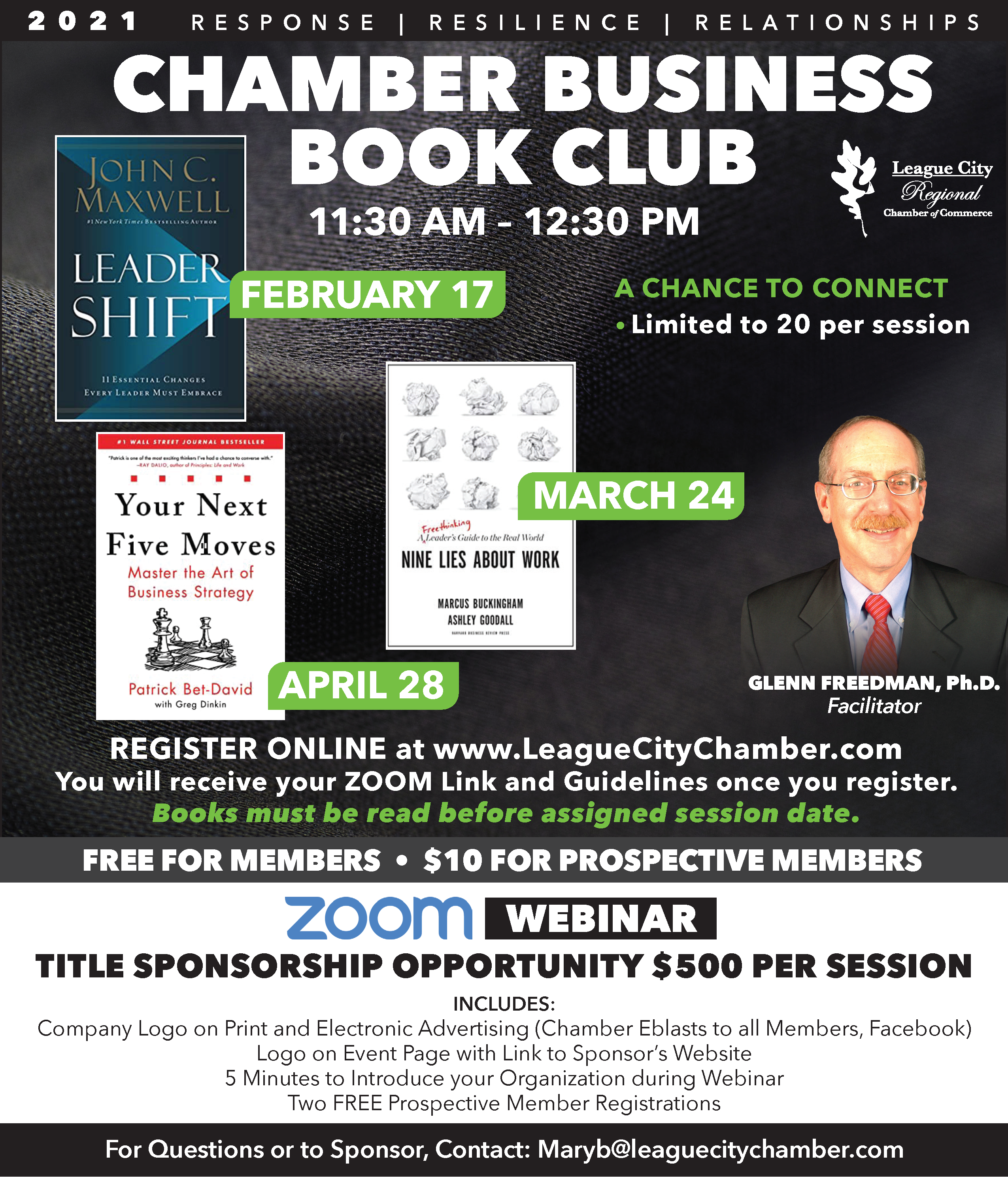 League City Regional Chamber launches first ever book club