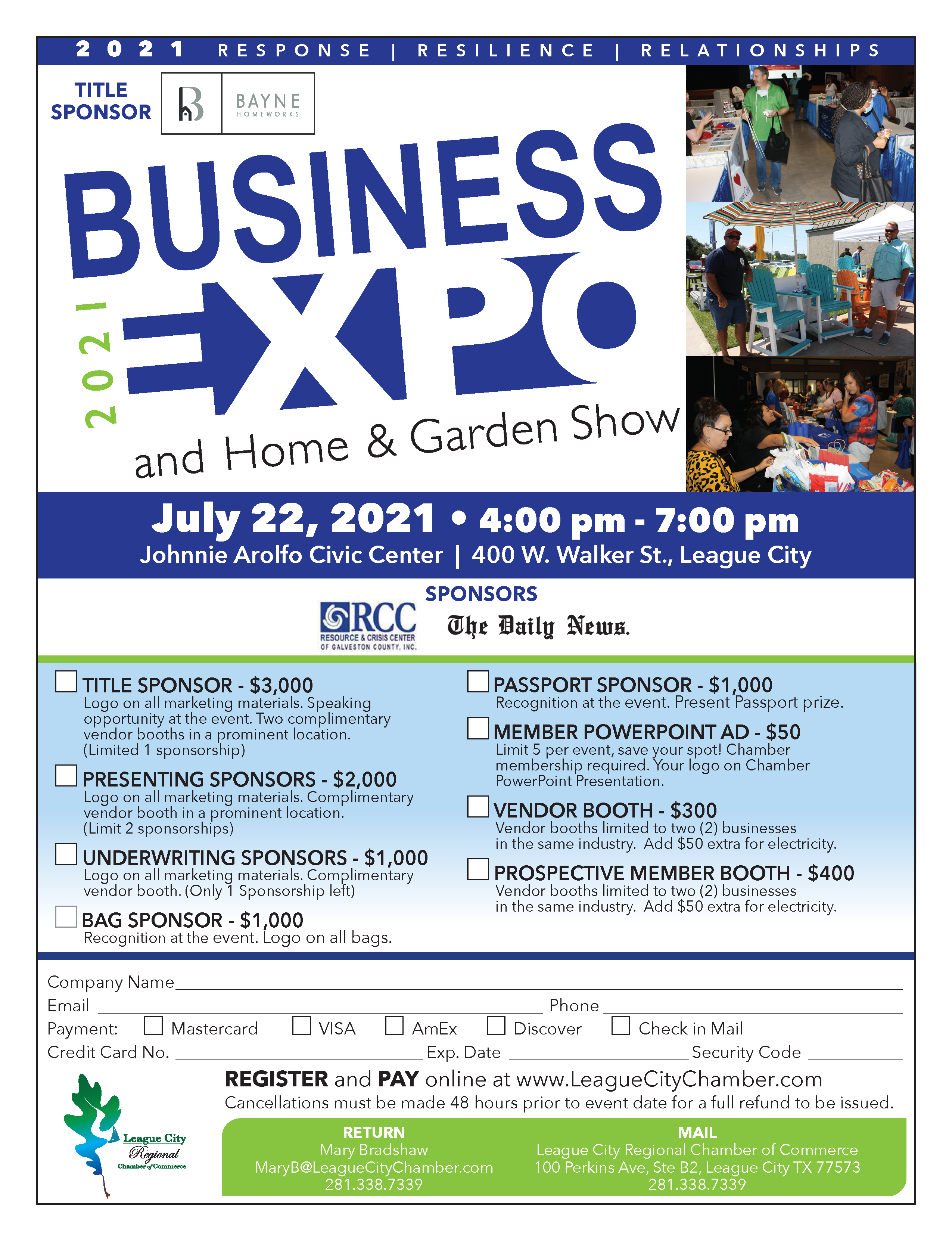 End July right with networking and fun at 2021 Business Expo!