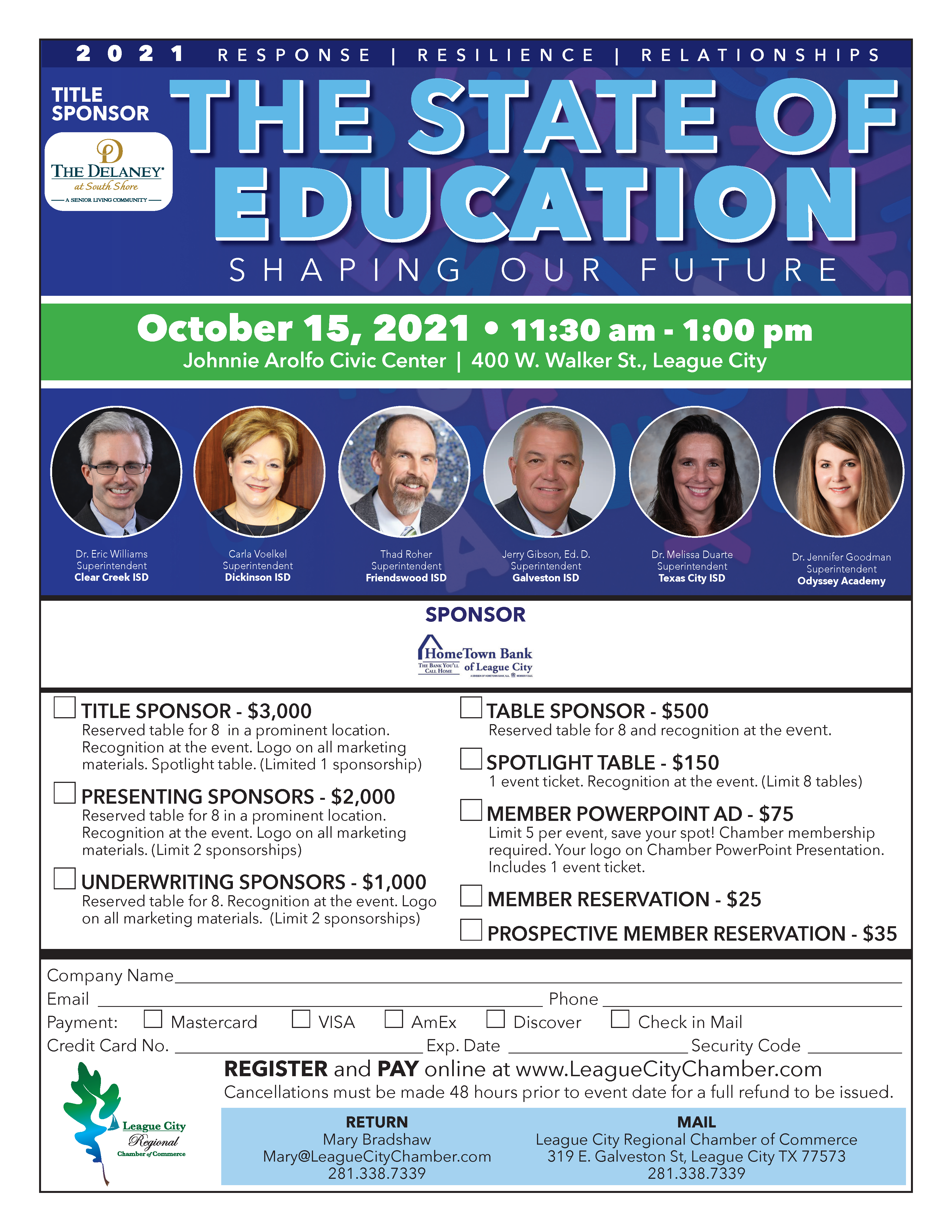 Image for Meet the leaders of our school districts at The State of Education!