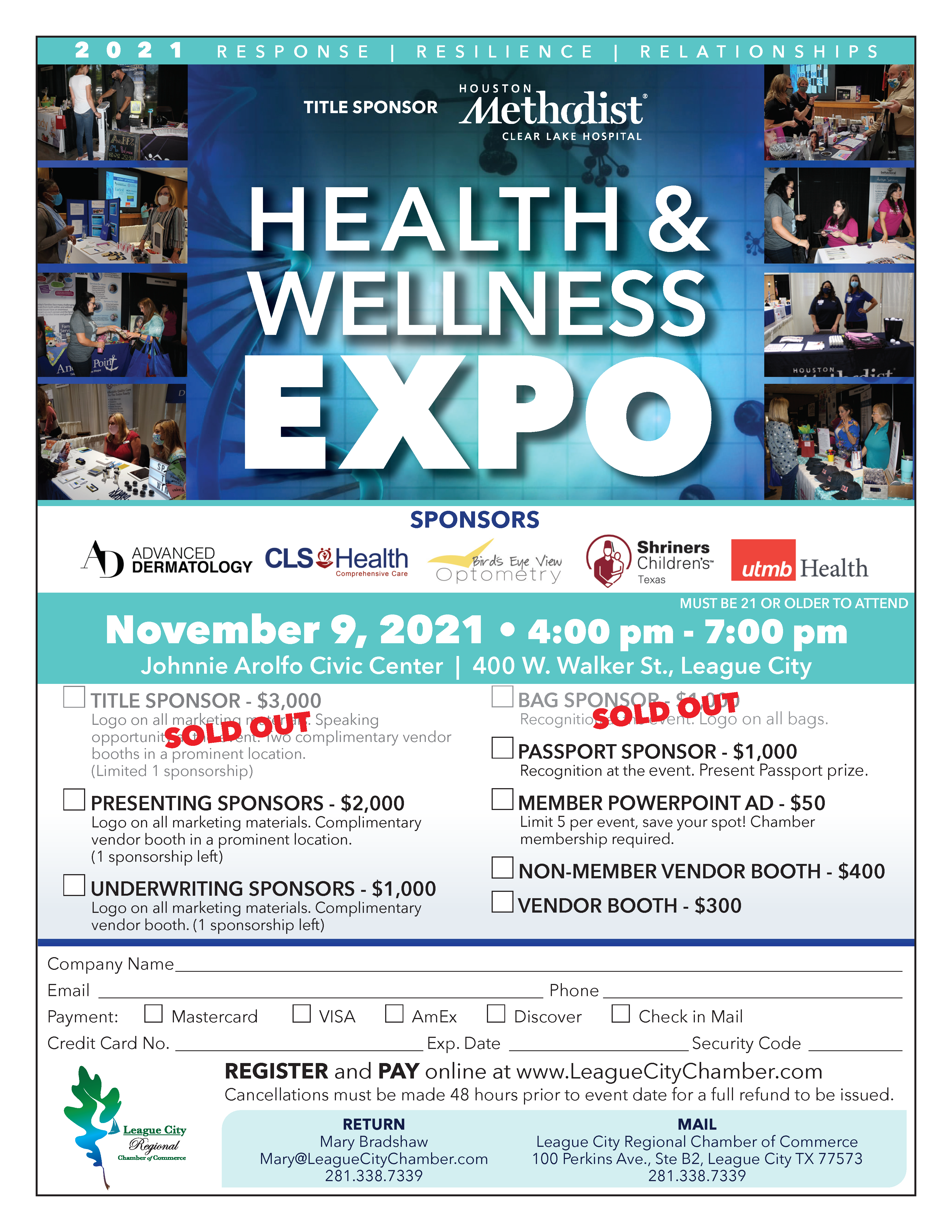 Discover keys to health at the Health and Wellness Expo!