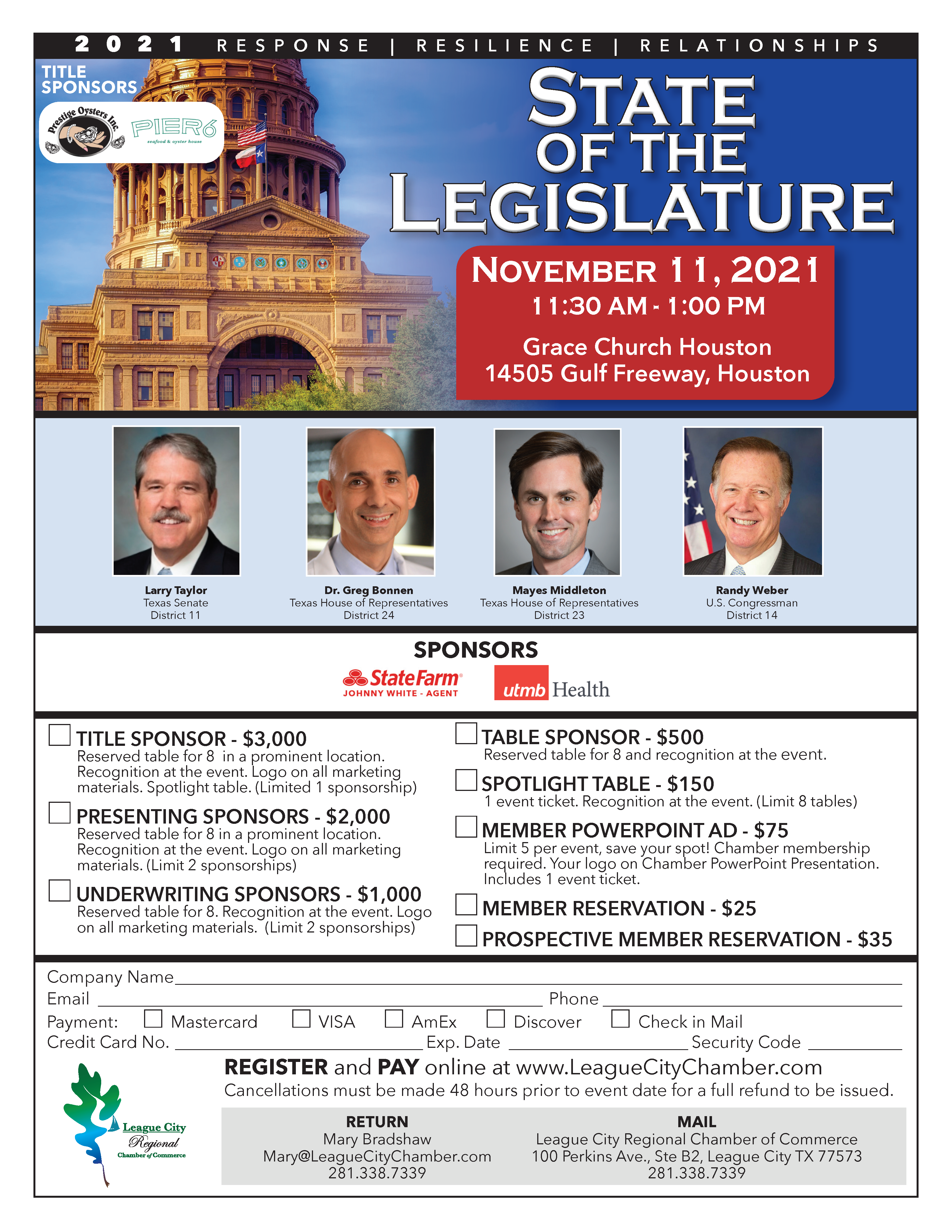 Image for See what your local politicians have to say at The State of the Legislature!
