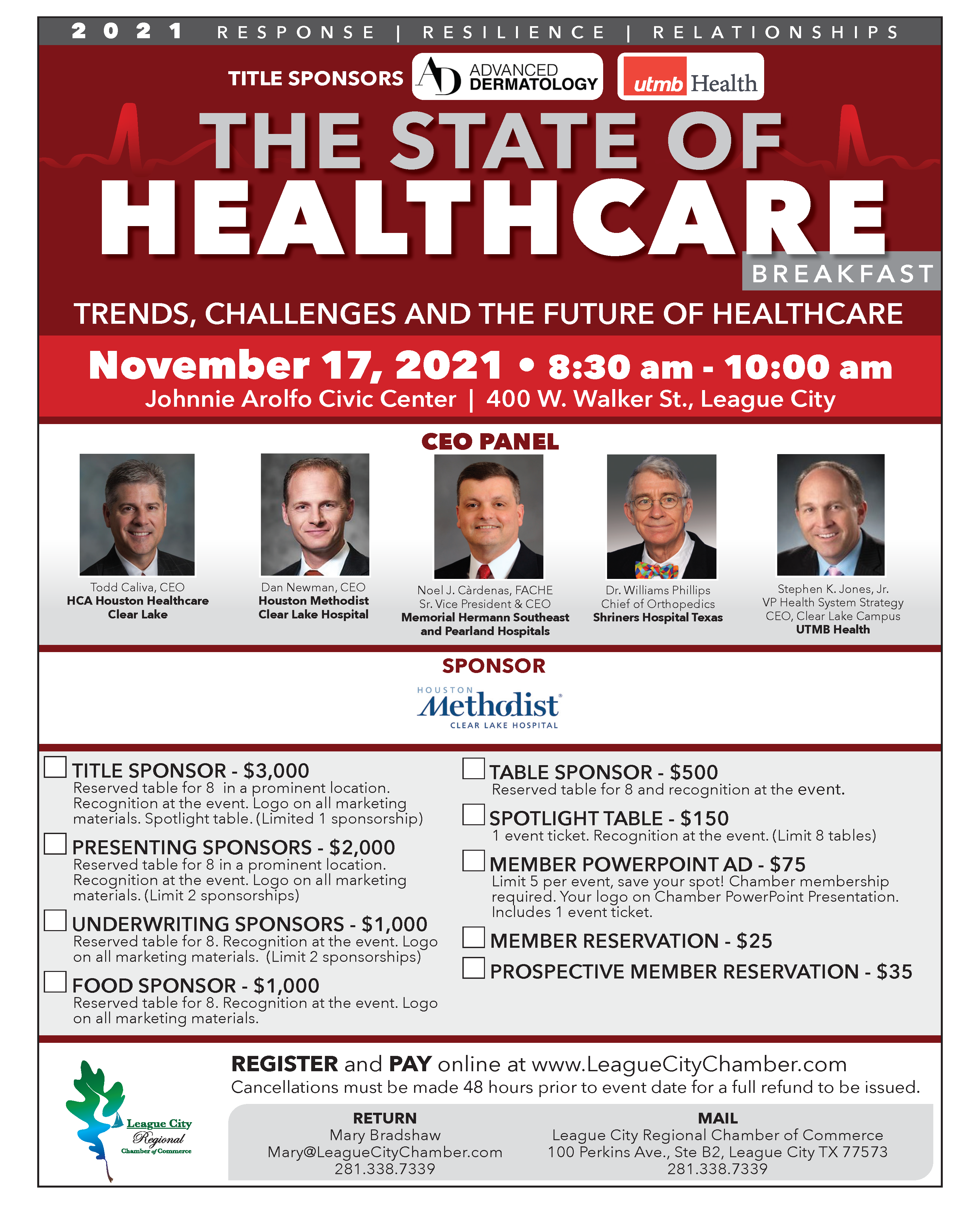 Image for Stay tuned for the State of Healthcare event in November!