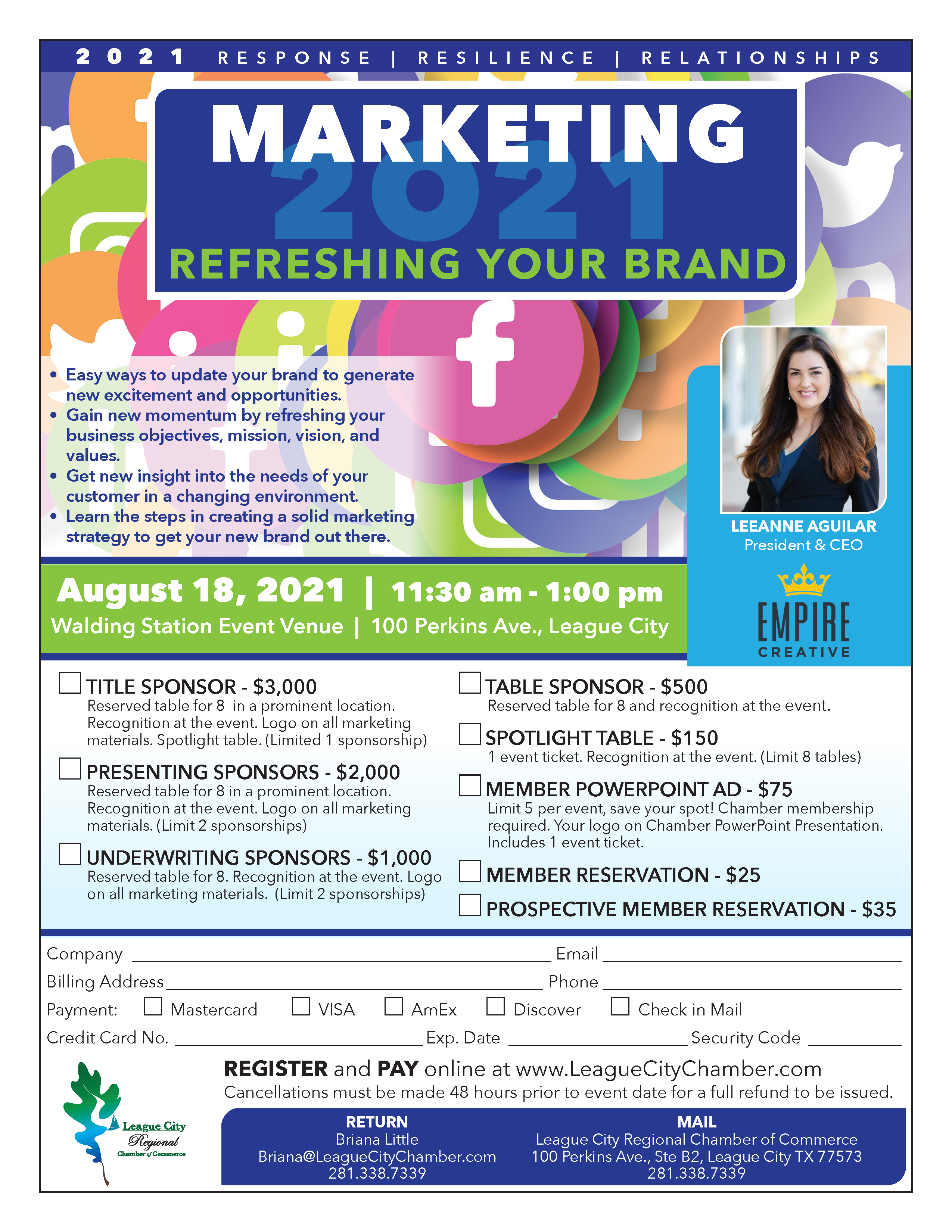 Refresh your brand at the latest marking seminar by your chamber!