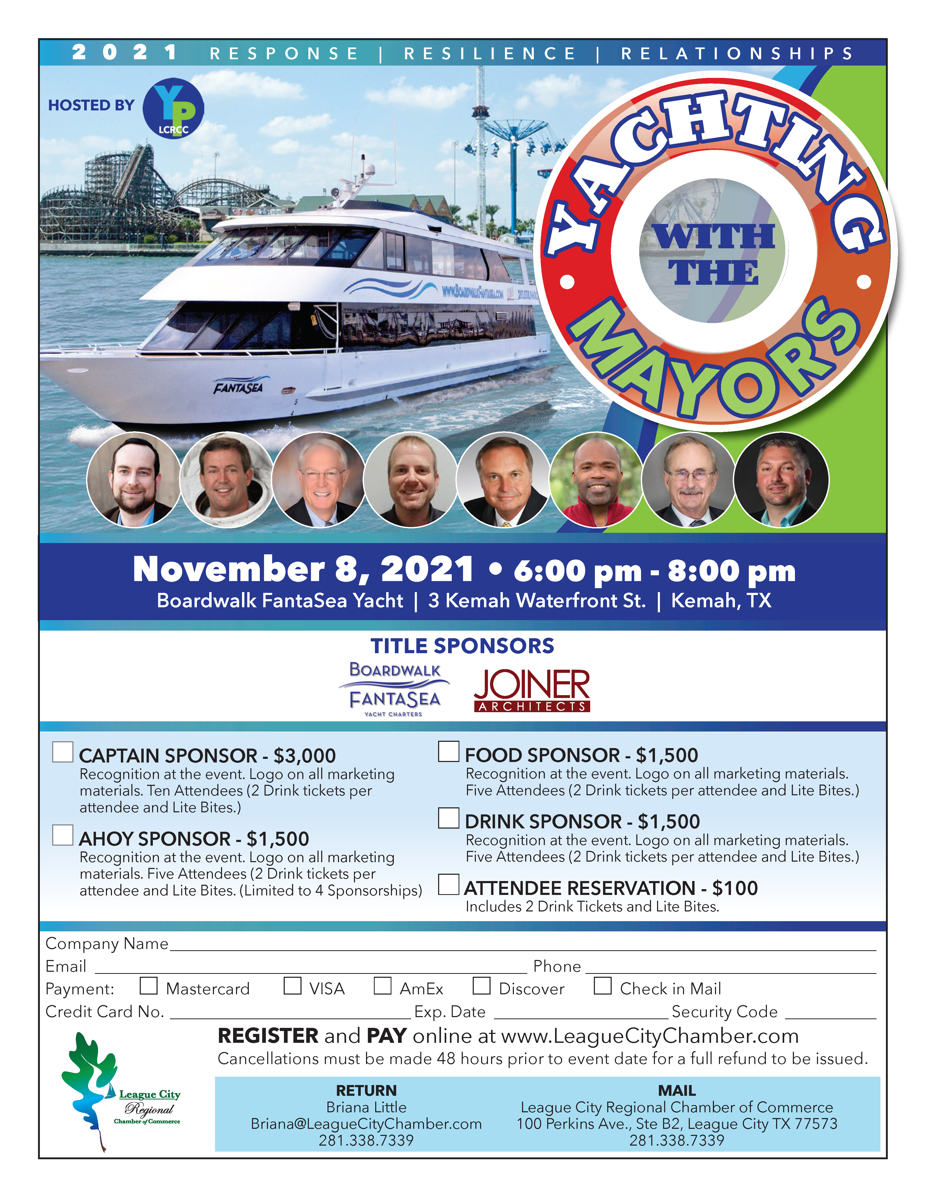 Image for PRESS RELEASE: Get ready for Yachting With the Mayors!