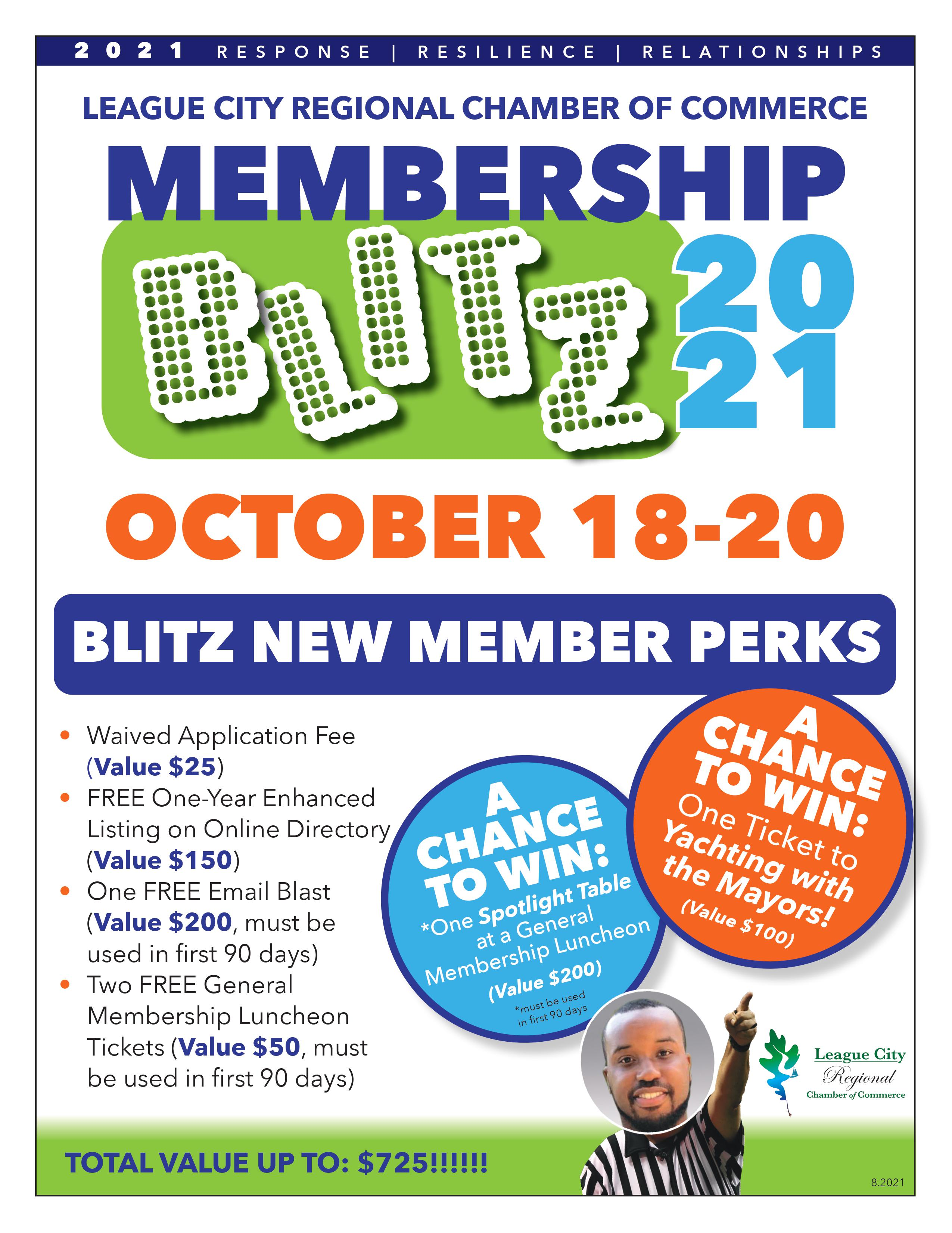 Image for PRESS RELEASE: Don't miss your chamber's next Membership Blitz!