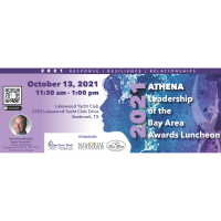 2021 ATHENA of the Bay Area Awards Luncheon