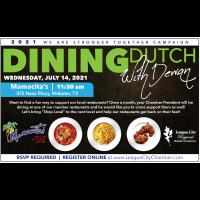 Dining Dutch with Dewan
