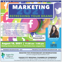 Marketing 2021: Refreshing Your Brand Luncheon