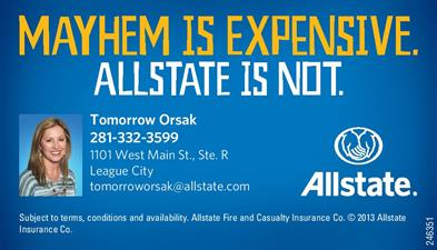 Allstate Insurance - Tomorrow Orsak