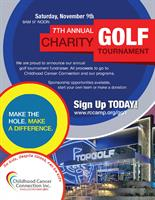 News Release: Charity Golf Tournament on Nov. 9th
