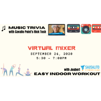 September Virtual Mixer -  Music Trivia Workout