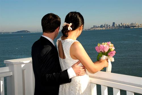 Have your wedding ceremony on the Skydeck