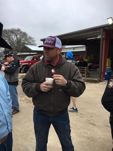 Dan at Chili Cook-Off on Feb 16 at Waller County Fairgrounds