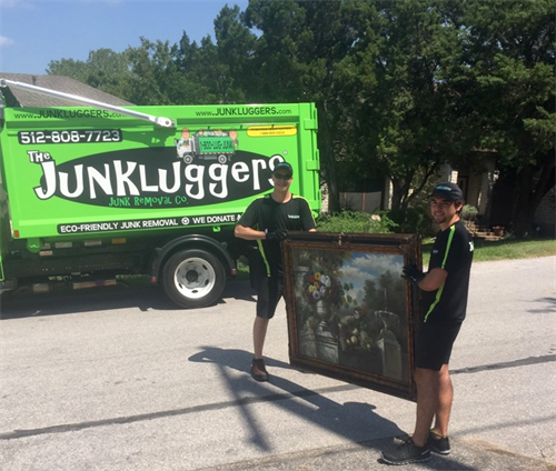Urban recycling made simple.  Donation slips available - Junk removal Austin