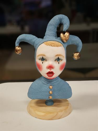 Little Jester sugar sculpture