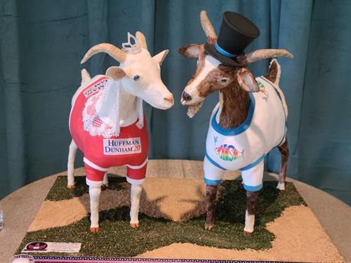 Spanish Goats grooms cake