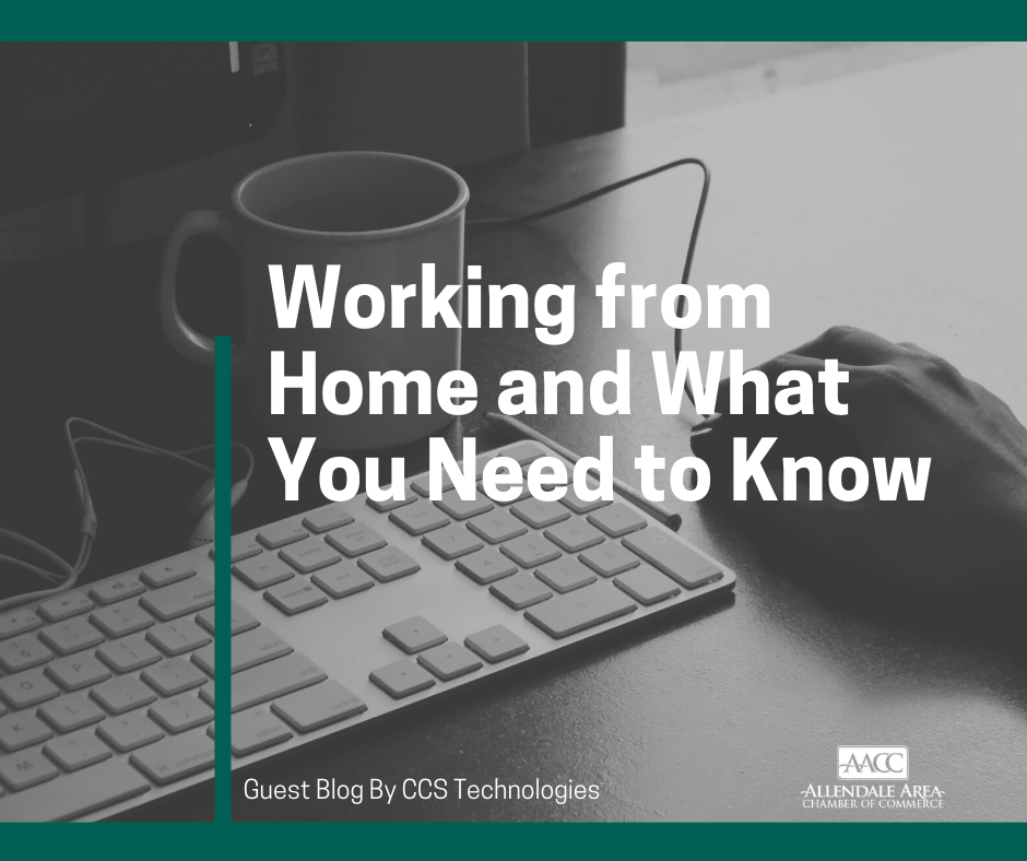 Guest Blog - CCS Technologies Discusses Working From Home & What You Need To Know