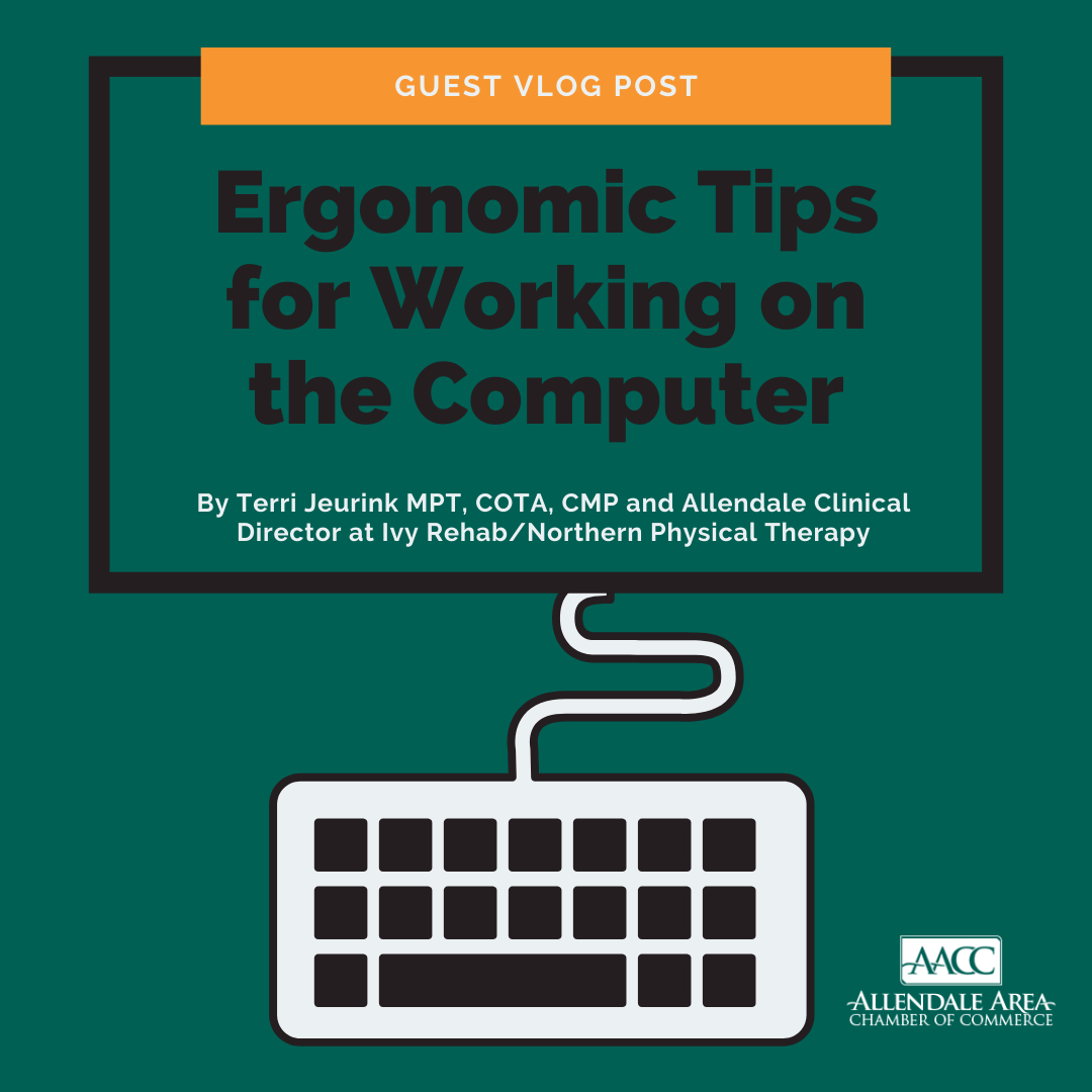 Guest Blog - Ergonomic Tips for Working on the Computer