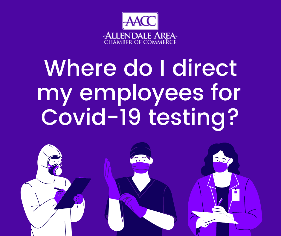 Image for Where do I direct my employees for Covid-19 Testing?
