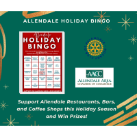 Allendale Holiday Bingo