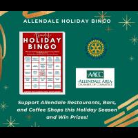 Allendale Holiday Bingo