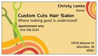 Custom Cuts Hair Salon - Allendale