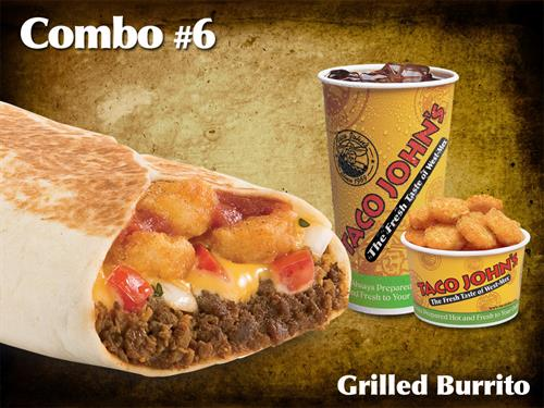 Grilled Burrito Combo