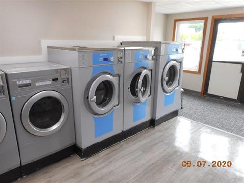 New large washing machines at S Bridge