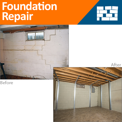 Before & After Foundation Repair