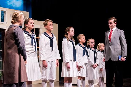 MLC Forum performs musicals every fall. Shown here: The The Sound of Music