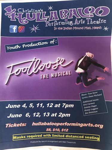 Footloose starts June 4!