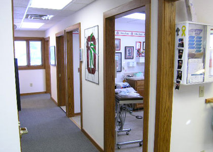 Inside our Granville Magnolia Dental Office