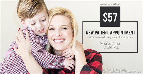 New Patients - Join our practice today with this New Patient Special!