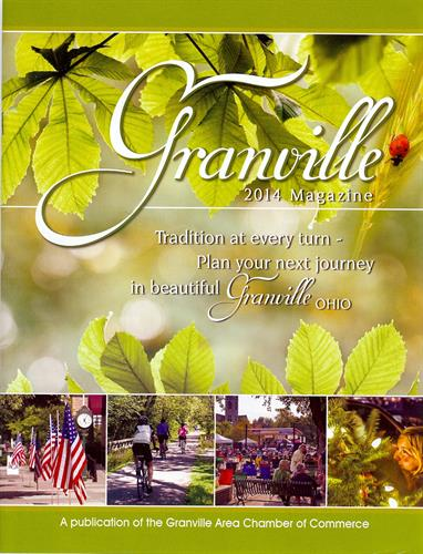 Cover of 2014 Granville Magazine