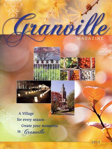 Cover of 2013 Granville Magazine