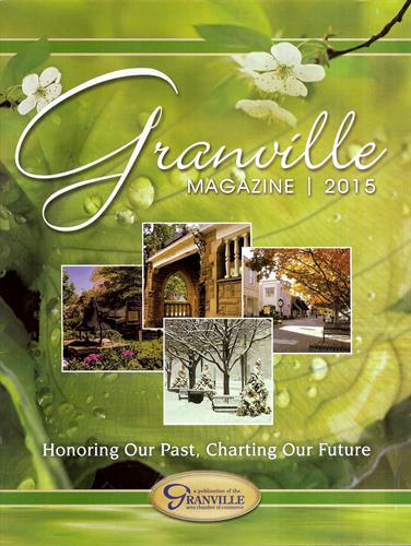 Cover of 2015 Granville Magazine
