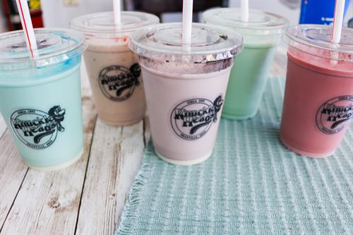 Milkshakes upon Milkshakes! We have 32 flavors total!