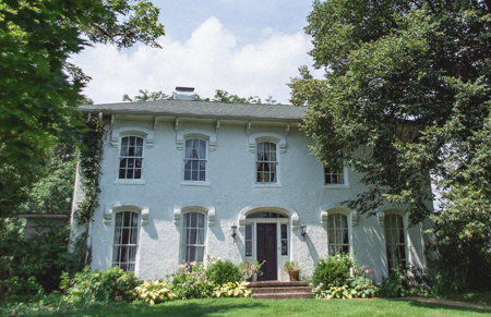 The 1850's Italianate Manor