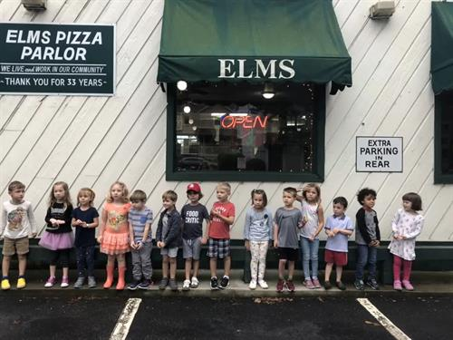Field trip to Elms Pizza!